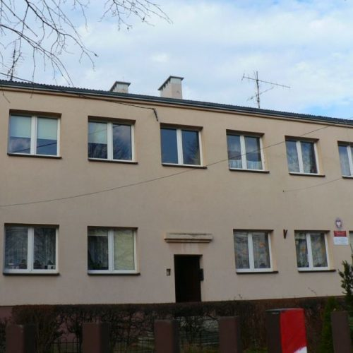 Zdjęcie budynku szkoły w Kłobuck