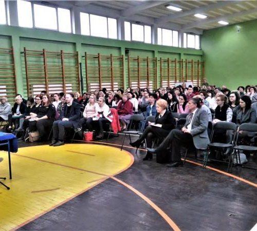 """""""Szkoła pomocą w drodze do nieba"""" - Wykład pani dr Wandy Półtawskiej w Łodzi"""